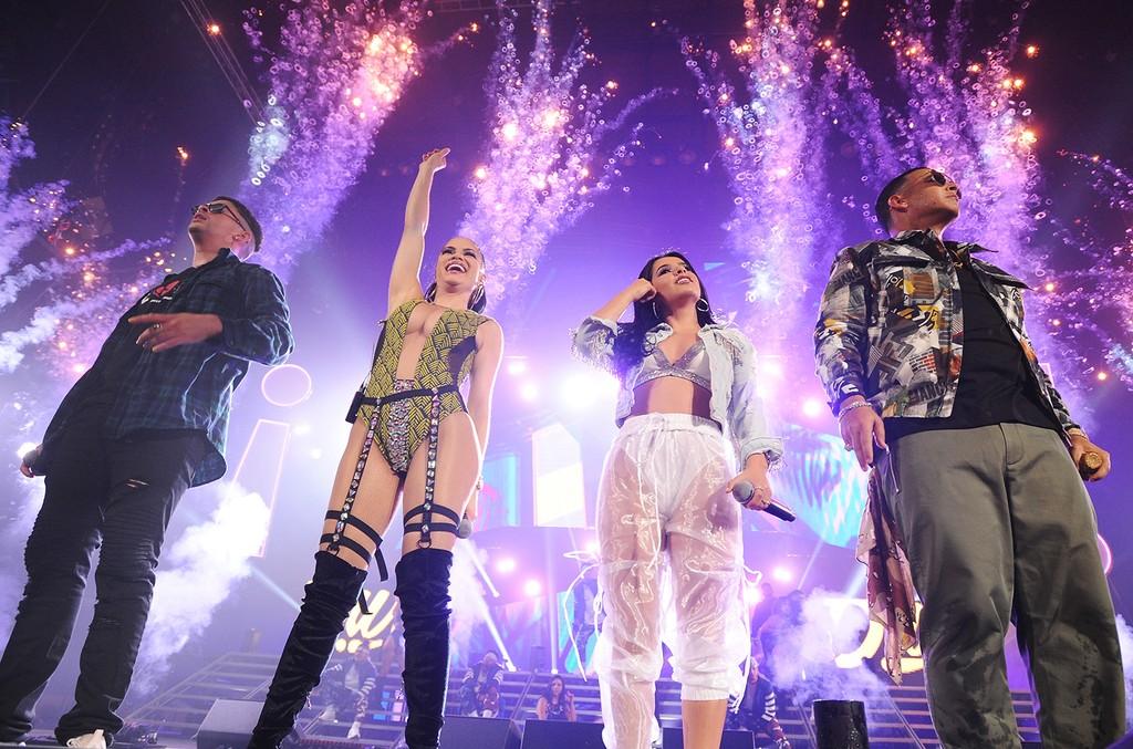 Bad Bunny, Natti Natasha, Becky G and Daddy Yankee