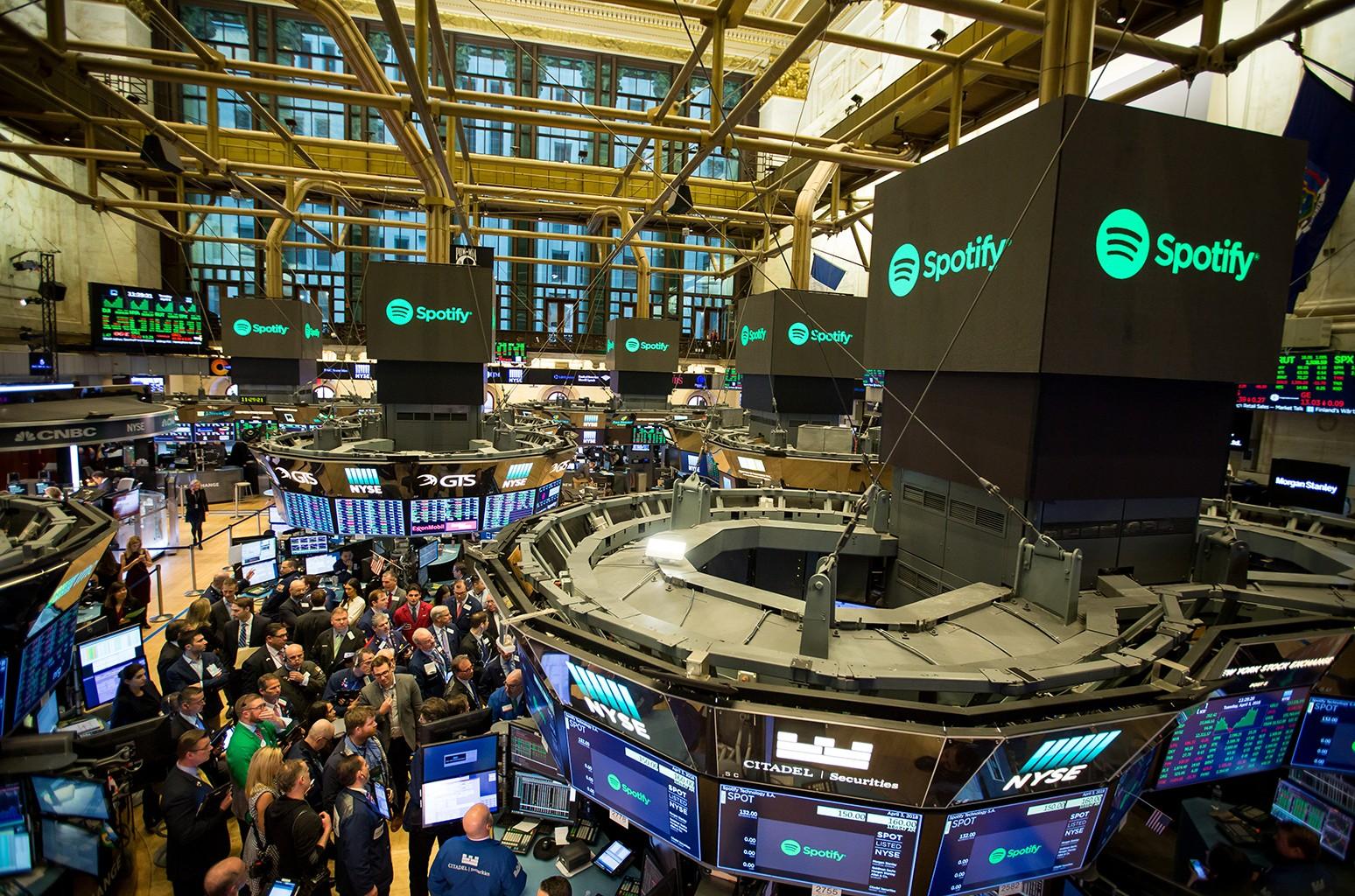 Spotify Stock Exchange