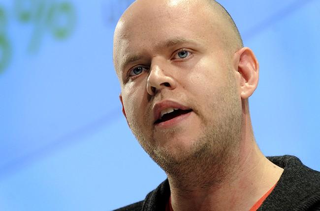 Daniel Ek, chief executive officer of Spotify Ltd. 2011