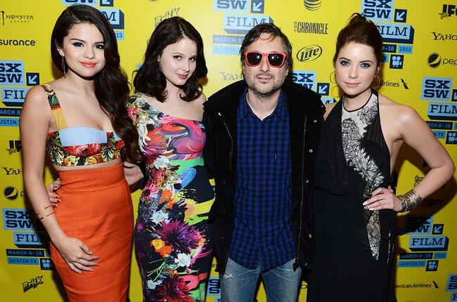 Selena Gomez, Rachel Korine, Harmony Korine and Ashley Benson