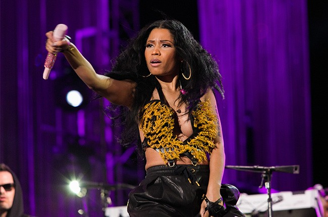 Nicki Minaj performs at the 2014 Philly 4th Of July Jam
