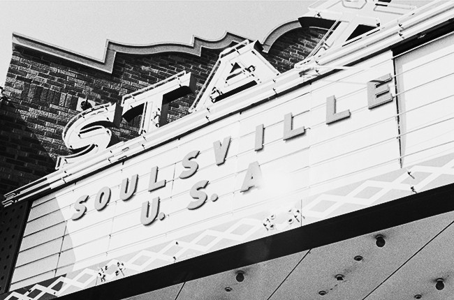 Stax Records sign