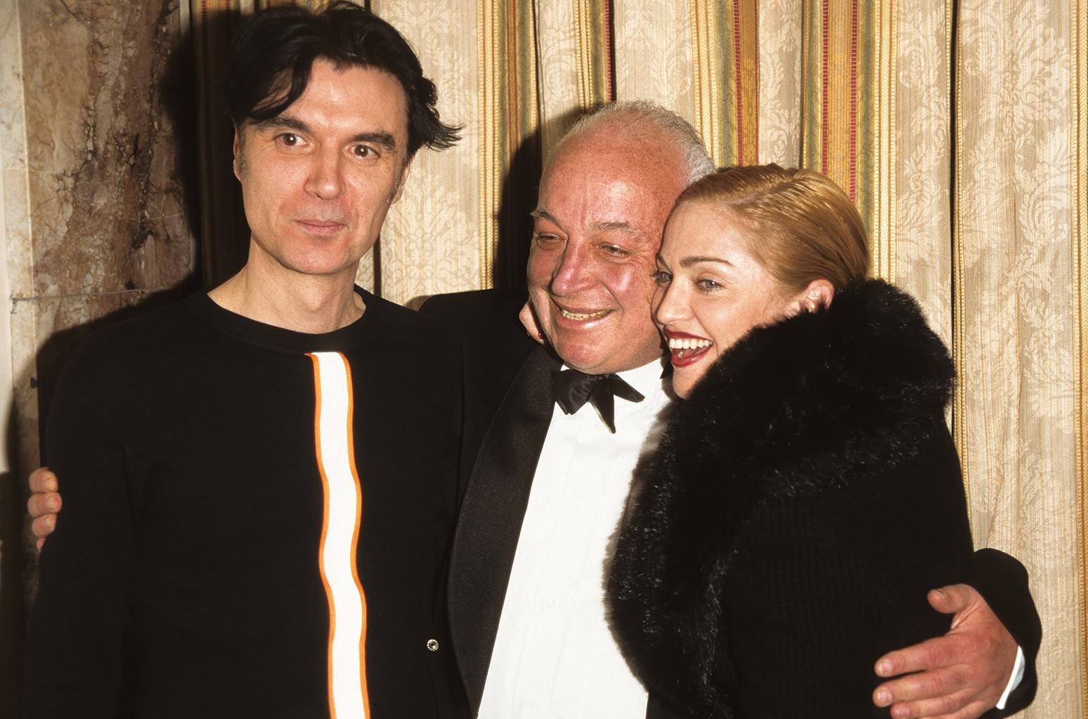 David Byrne, Seymour Stein & Madonna