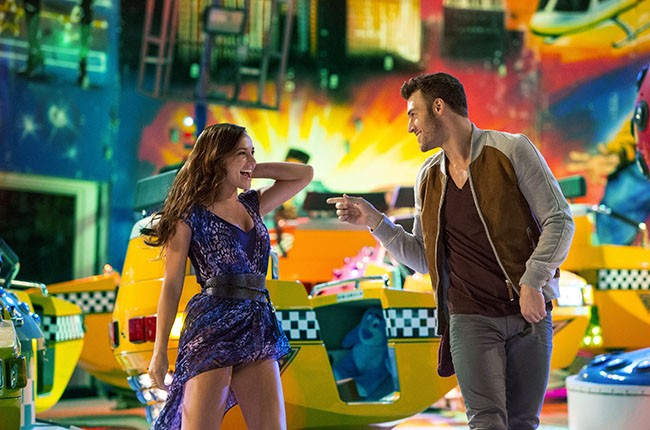 Andie (Briana Evigan) and Sean (Ryan Guzman) in STEP UP ALL IN