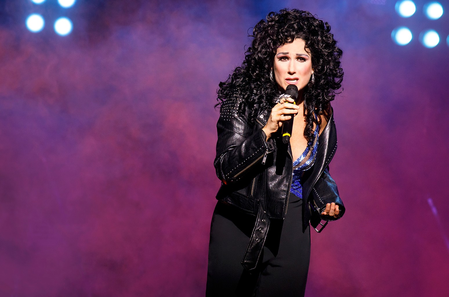 Stephanie J. Block the cher show