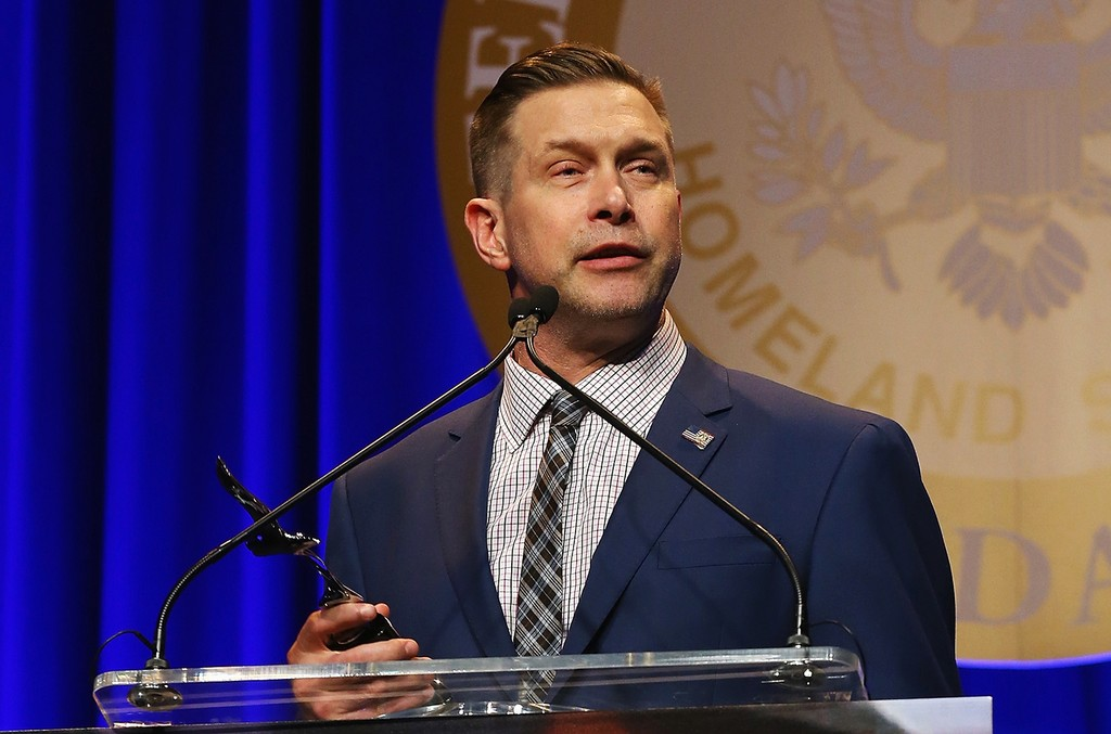 Stephen Baldwin speaks onstage during the Federal Enforcement Homeland Security Foundation 2016 Ridge Awards at Sheraton Times Square on May 19, 2016 in New York City.