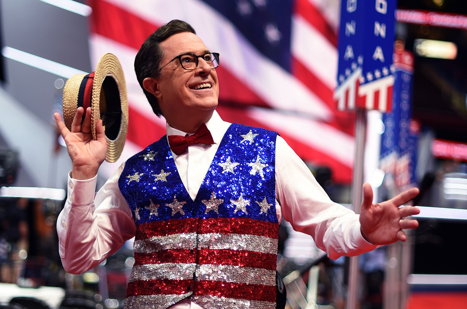 Stephen Colbert ahead of the Republican National Convention