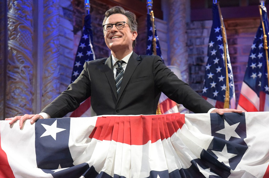 Stephen Colbert on The Late Show with Stephen Colbert.