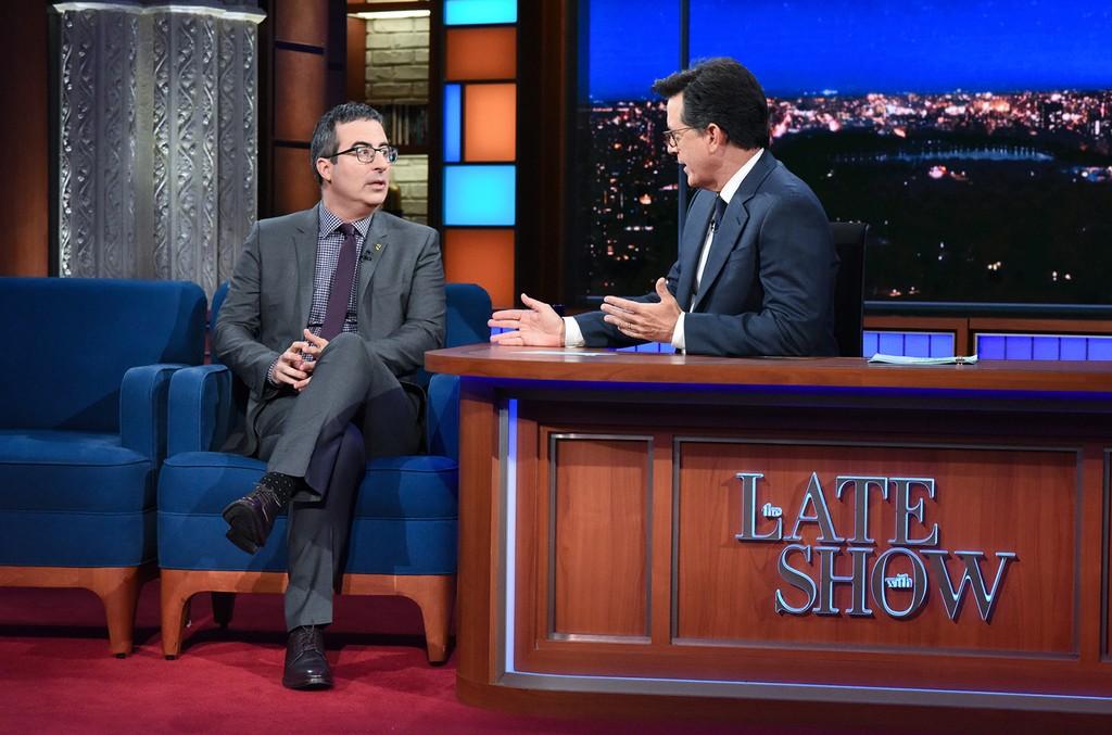Stephen Colbert & John Oliver