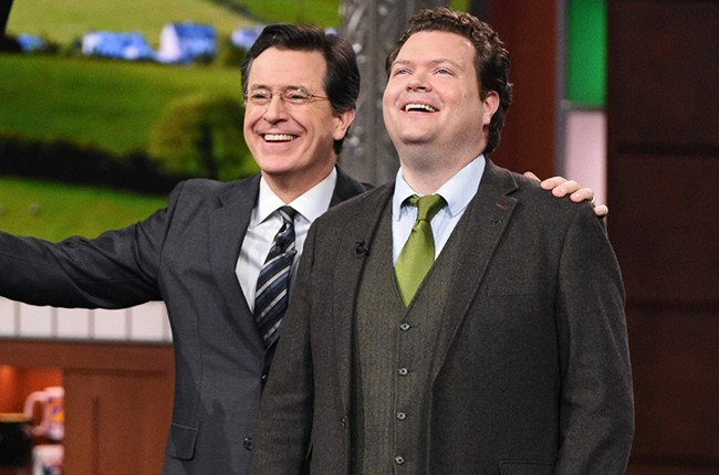 """The Late Show with Stephen Colbert St. Patricks day """"Danny Boy"""""""