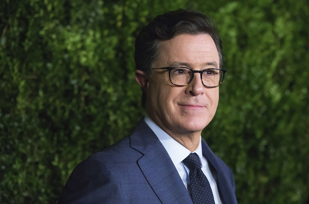Stephen Colbert attends The Museum of Modern Art Film Benefit tribute to Tom Hanks on Tuesday, Nov. 15, 2016, in New York. (Photo by Charles Sykes/Invision/AP)