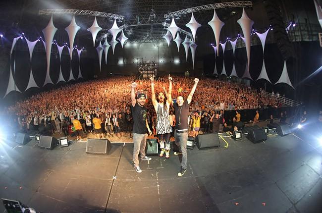 Steve Aoki and Linkin Park