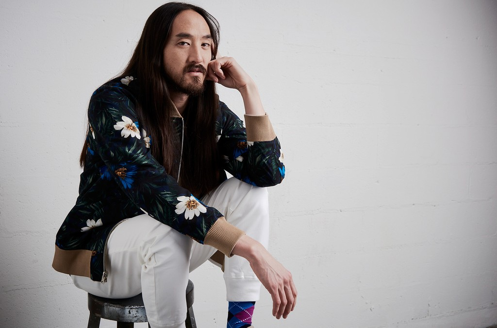 Steve Aoki in New York City