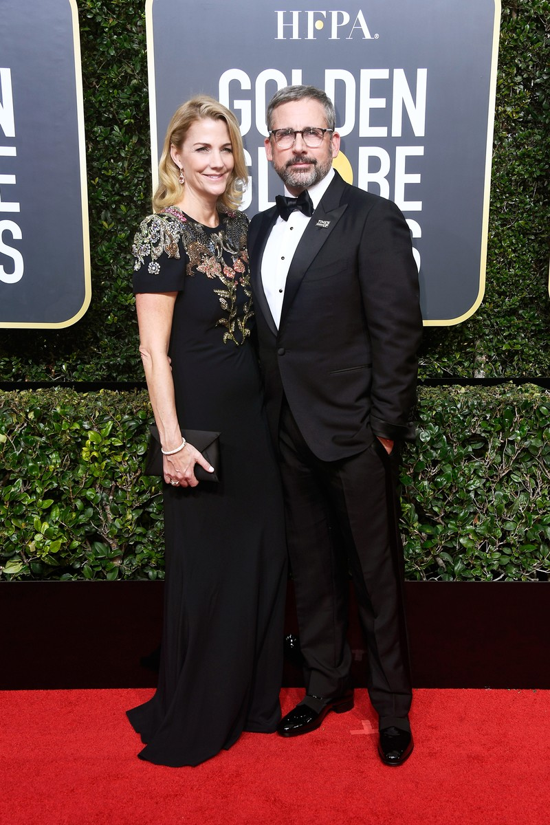Steve Carell & Nancy Carell, 2018
