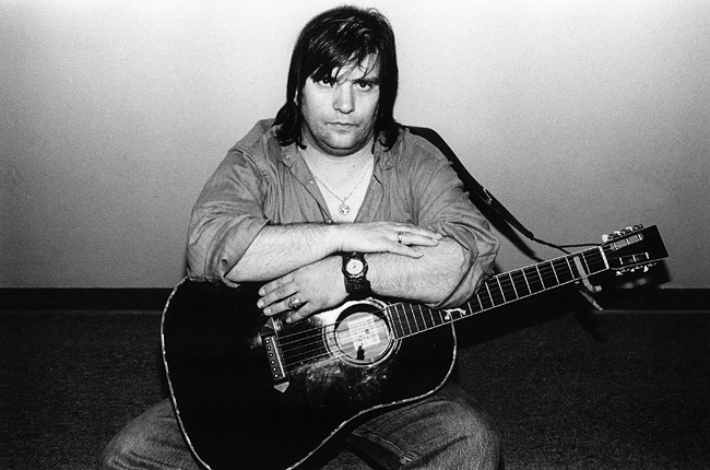 """Steve Earle is shown in 1997, the year he released his seventh album, """"El Corazón."""" (Getty Images)"""