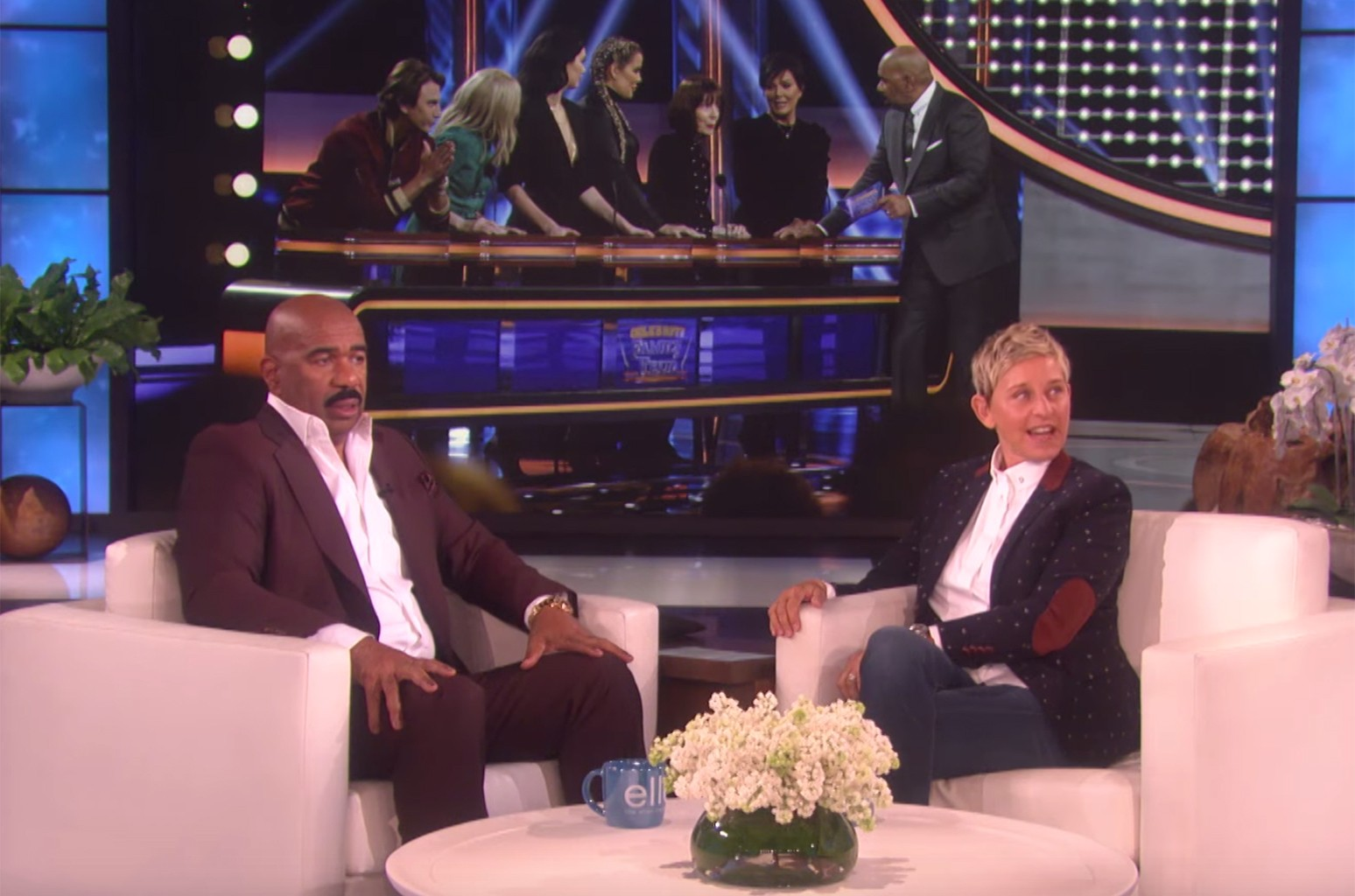 Steve Harvey Ellen DeGeneres Show