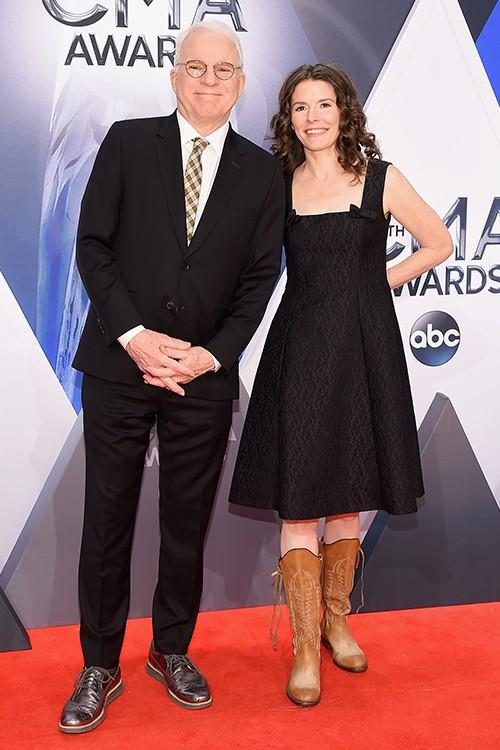 Steve Martin and Edie Brickell  CMA 2015
