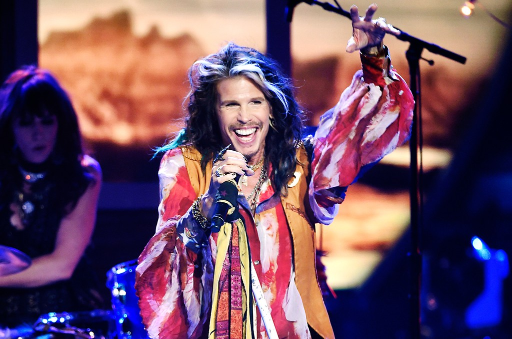Steven Tyler performs at the American Idol XIV finale at the Dolby Theatre on May 13, 2015, in Los Angeles.