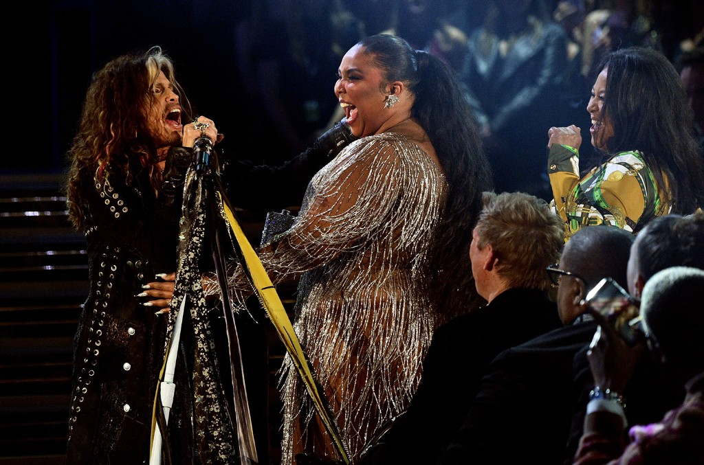 Steven Tyler and Lizzo