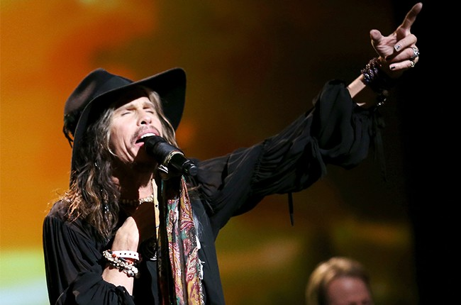Steven Tyler performs onstage at 2014
