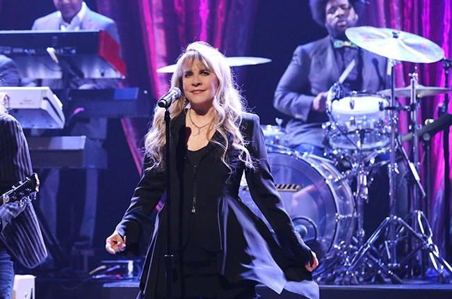 Stevie Nicks performs on The Tonight Show Starring Jimmy Fallon