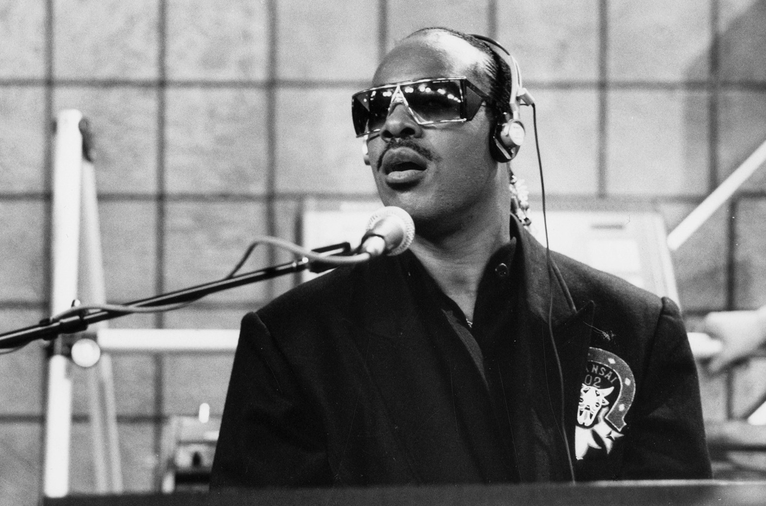 Stevie Wonder in 1986