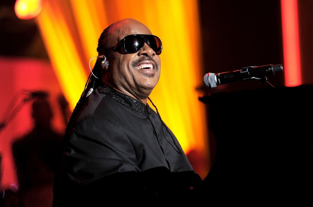 Stevie Wonder performs in Los Angeles