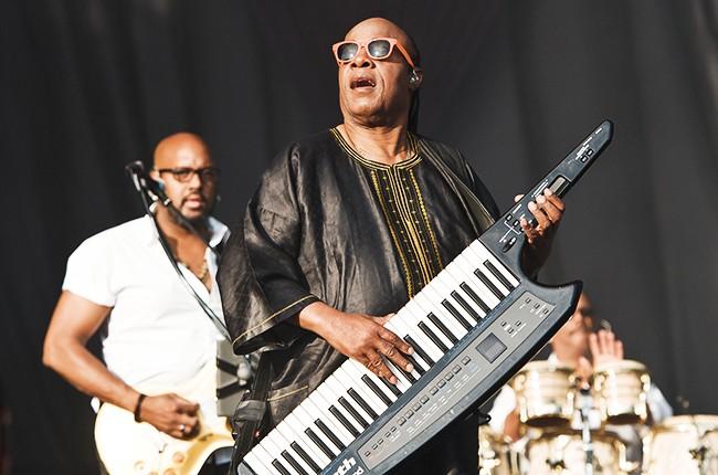 Stevie Wonder performs at Calling Festival