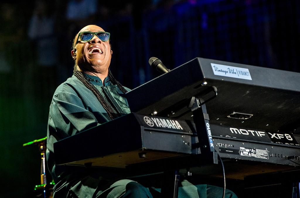 Stevie Wonder performs on May 27, 2016 in Napa, Calif.