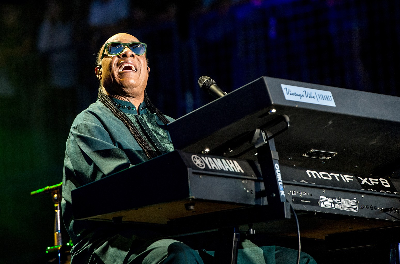 Stevie Wonder performs on May 27, 2016 in Napa, Calif.