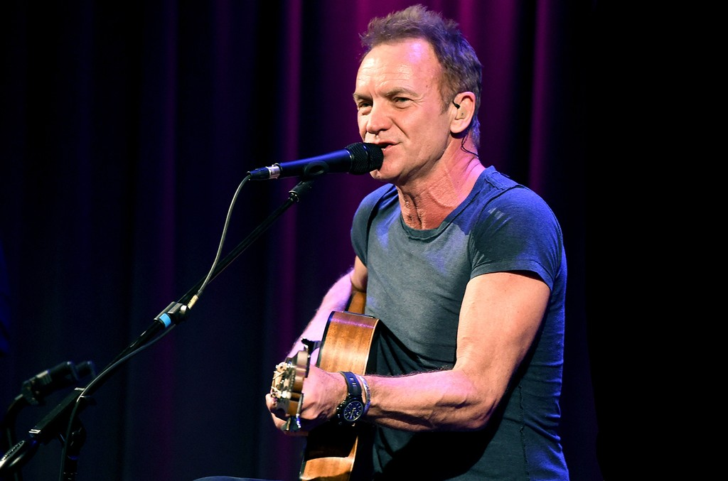 Sting performs at the Grammy Museum