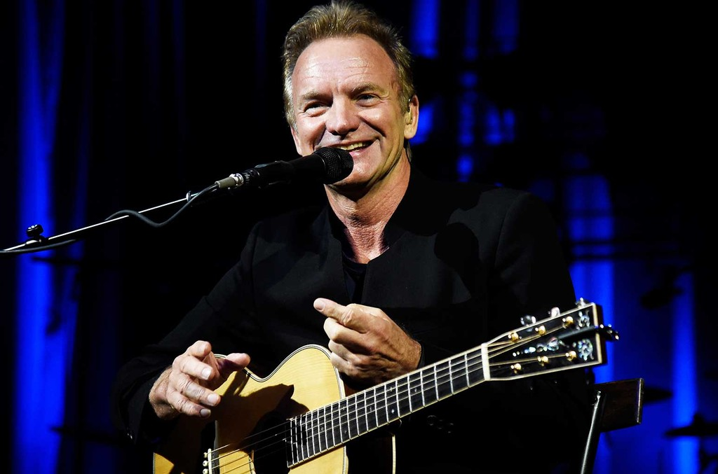 Sting performs onstage to kick off Citi Sound Vault, a new live music platform curated exclusively for Citi cardmembers, at Hollywood Palladium on Feb. 8, 2017 in Los Angeles.