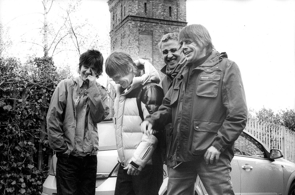 The Stone Roses photographed in 2016