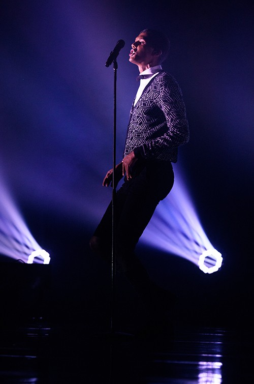 Stromae performs live at Madison Square Garden