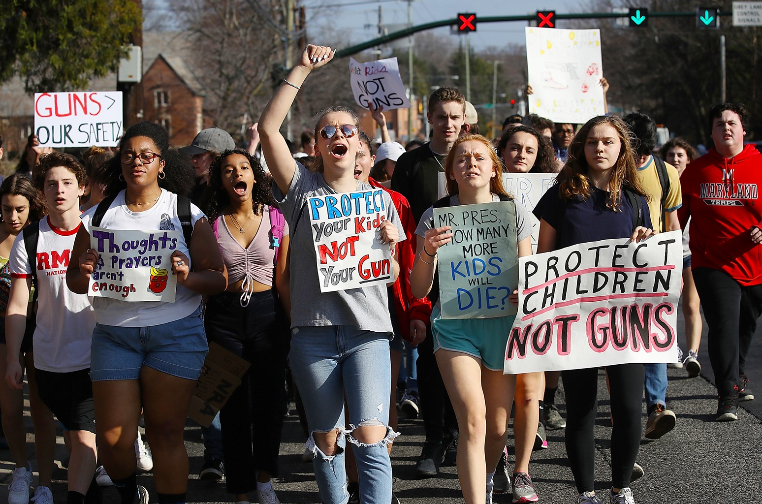 Student March for Gun Reform 2018