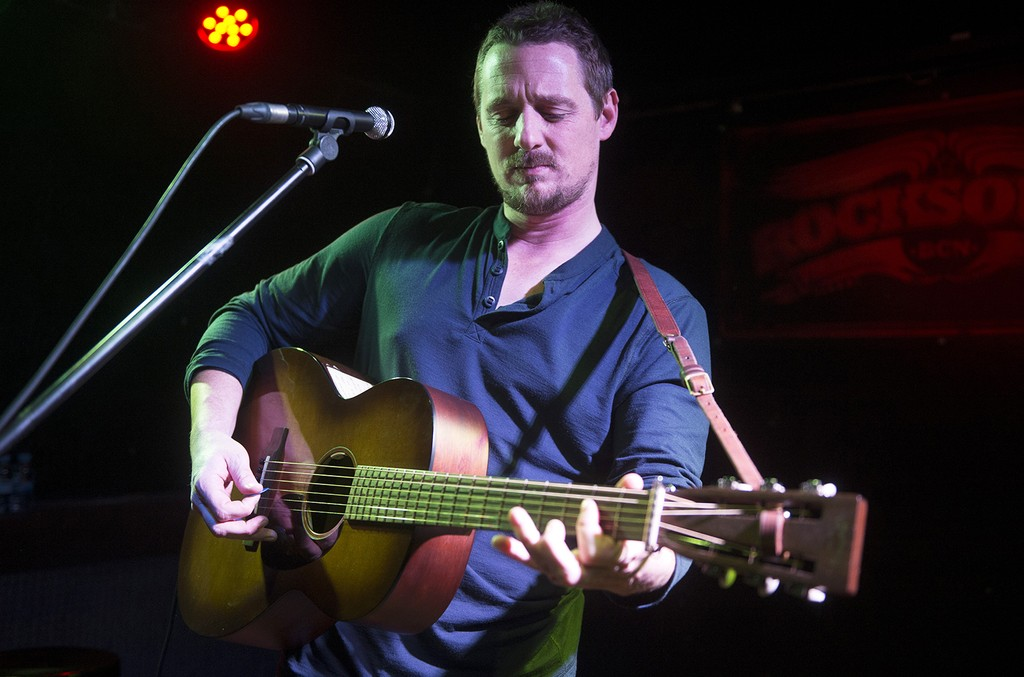 Sturgill Simpson performs in 2016
