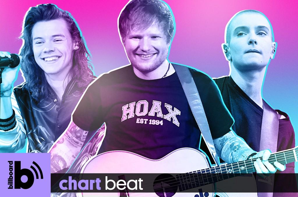 Harry Styles, Ed Sheeran & Sinead O' Connor