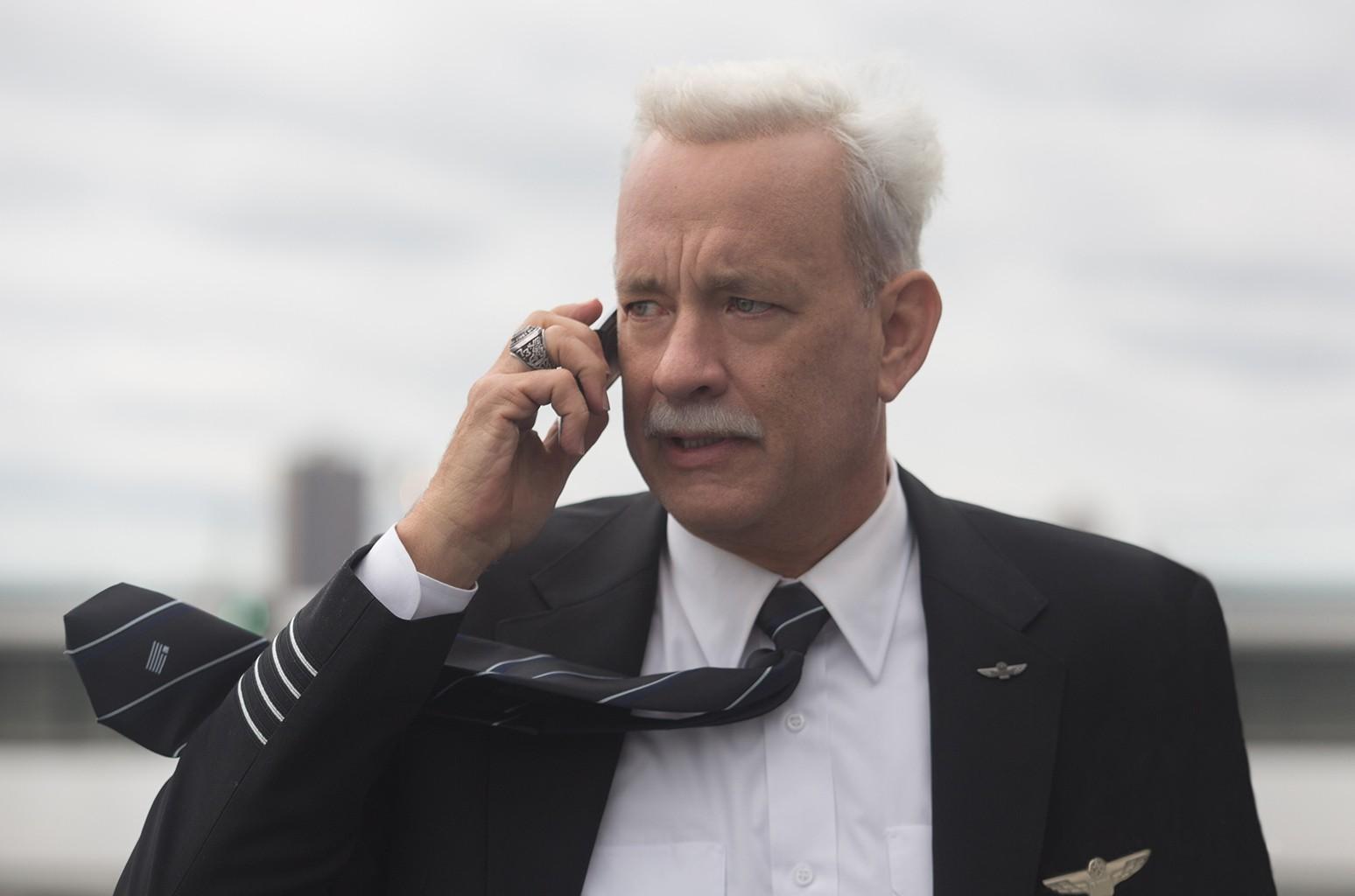 Tom Hanks in Sully.