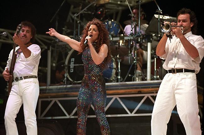 Gloria Estefan & Stevie Wonder, 1992