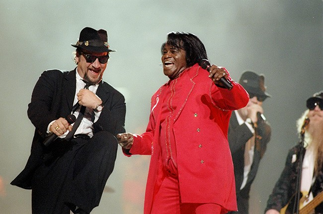 Blues Brothers, James Brown & ZZ Top, 1997