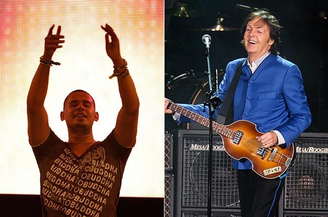 Afrojack and Paul McCartney