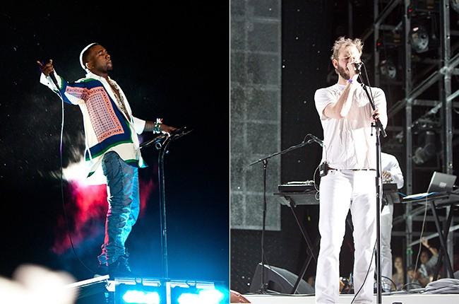 Kanye West and Bon Iver