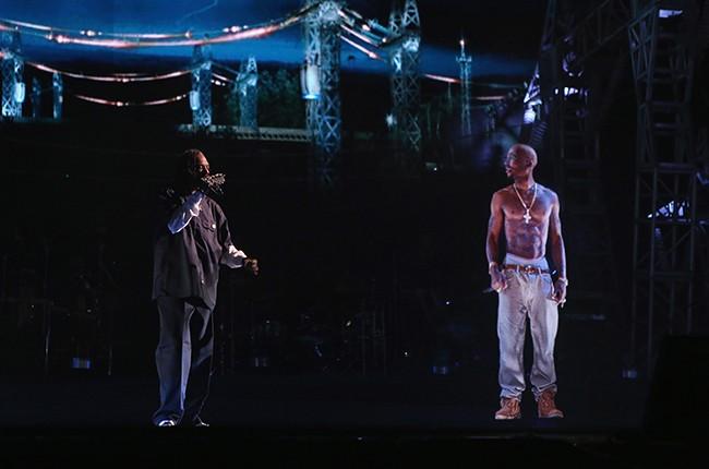 Snoop Dogg and Tupac