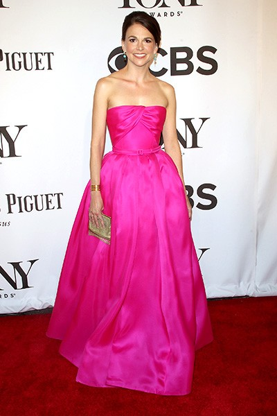 Sutton Foster attends 68th Annual Tony Awards