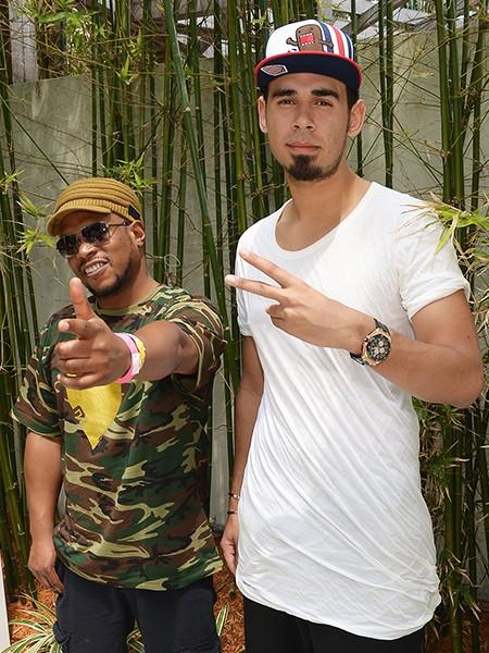 Sway Calloway and Afrojack attend SwayJack Radio hosted by Sway Calloway and Afrojack Live From The SiriusXM Music Lounge