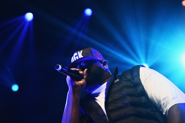 Ghostface Killah of the Wu-Tang Clan performs during the 2015 SXSW