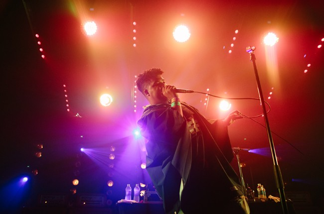 ILoveMakonnen performs at the Crack In The Road + Disco Naivete Showcase at Hype Machine's Hype Hotel during SXSW