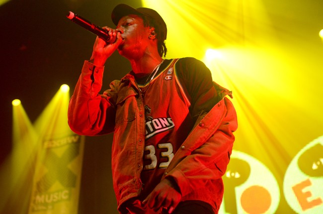 Joey Badass performs during the #SXSWTakeover at ACL Live