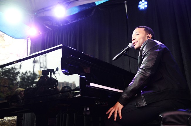 John Legend performs onstage during the SPIN/AXE White Label Collective SXSW