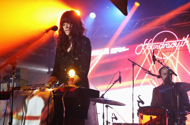 Katie Toupin and Shane Cody of Houndmouth preform at Tumblr IRL Presents Houndmouth at SXSW